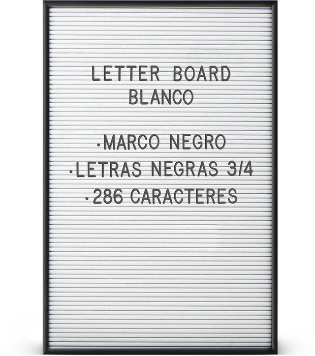 Letterboard bn 02