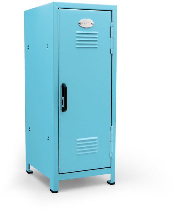 Minilocker azul 1