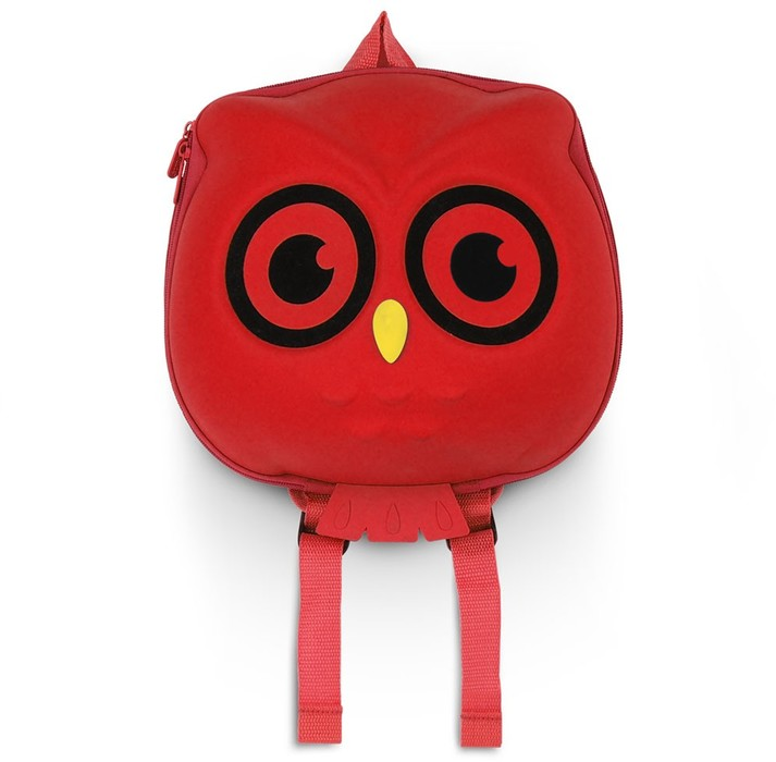 Owl rojo 01