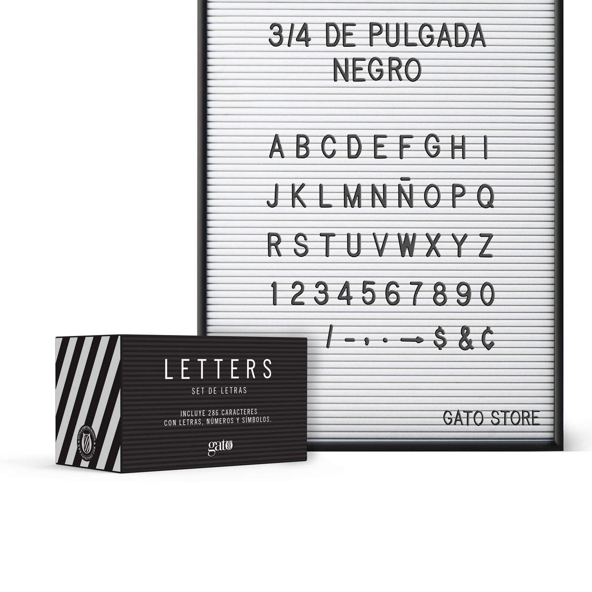 """LETTERS 3/4"""""""