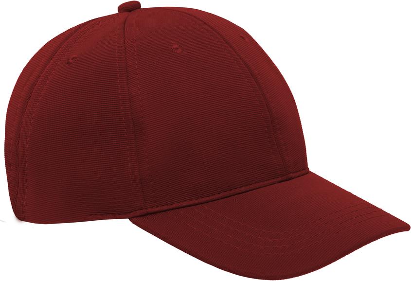 Gorra rojo g217 perfil