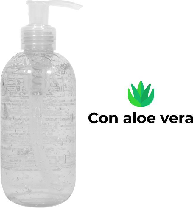ALCOHOL EN GEL SANITIZANTE 250 ML.