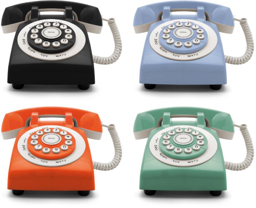 G45 retro phone 70 colores gato