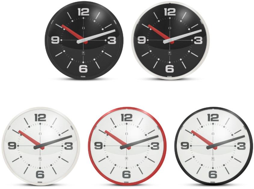 G122 ball wall clock colores gato