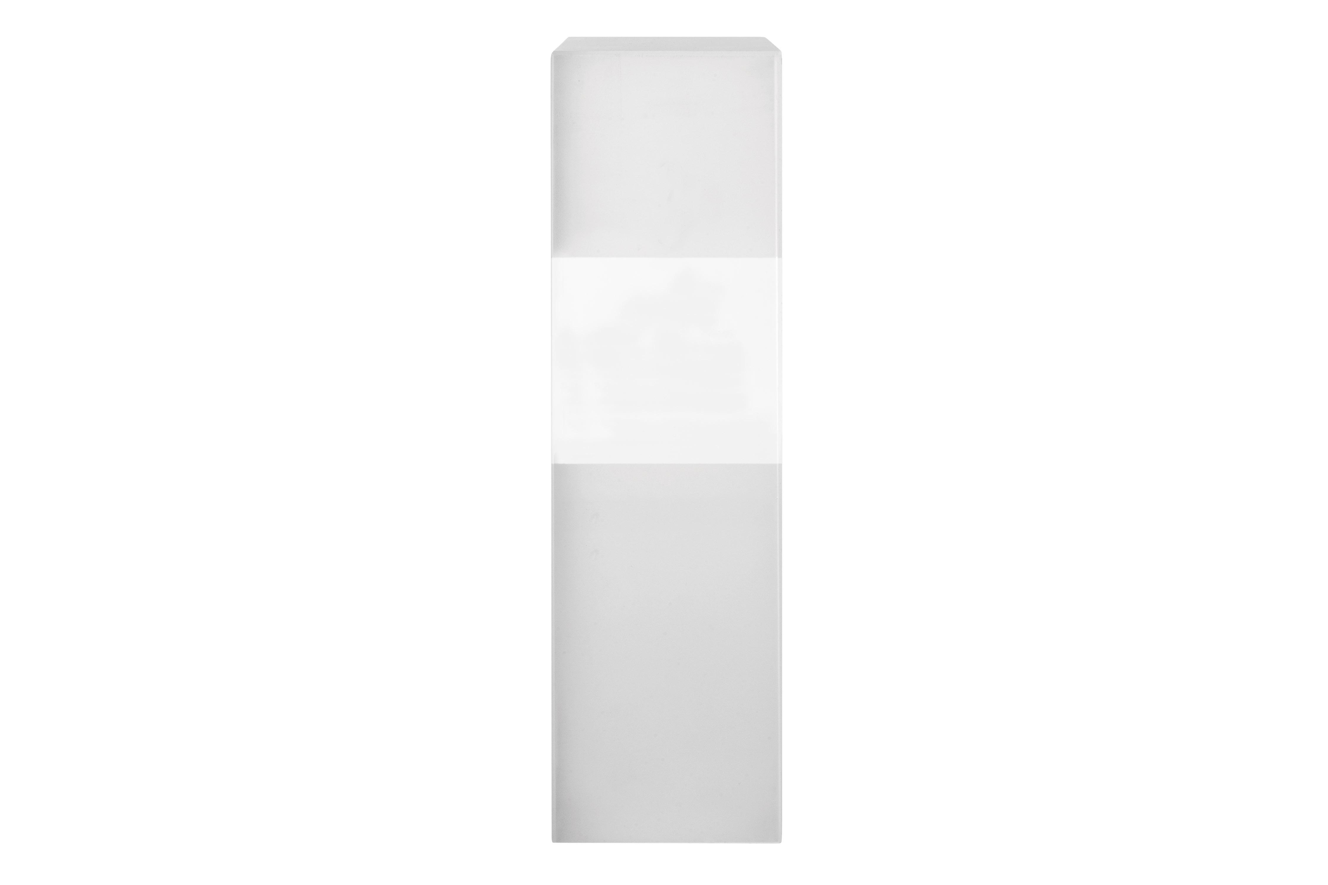 Trofeo de cristal rectangular